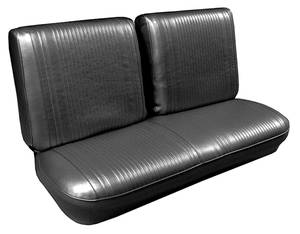 1966-1966 Tempest Seat Upholstery, 1966 Reproduction Tempest Custom Split Bench (w/o Armrest), by PUI