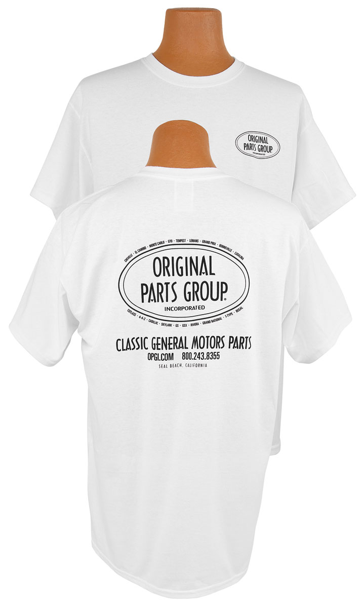 Photo of Original Parts Group T-Shirt white