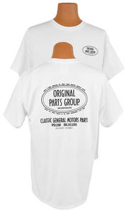 1961-1971 Tempest Original Parts Group T-Shirt White