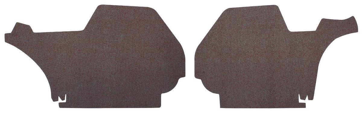 Photo of Trunk Side Panels Hardtop 4-dr. (gray herringbone)