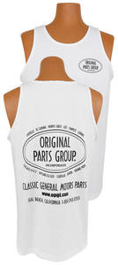 Original Parts Group Tank Top White