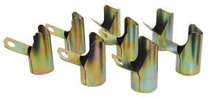 1970-71 Monte Carlo Spark Plug Heat Shields (Big-Block)