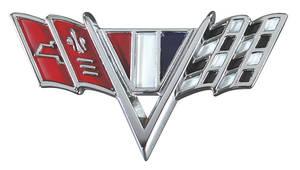 1964-1967 El Camino Fender Emblem, V-Flags