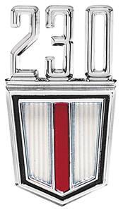 """El Camino Fender Emblem, 1965-67 """"230"""""""