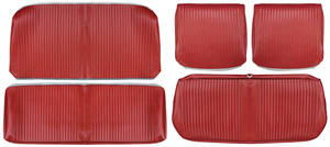 Chevelle Seat Upholstery, 1964 Reproduction Vinyl Split Bench w/Coupe Rear