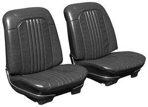 El Camino Seat Upholstery, 1971-72 Reproduction Vinyl Buckets