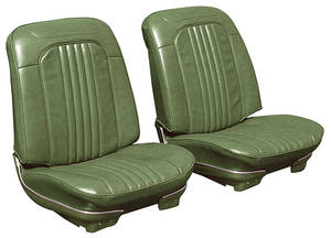 Chevelle Seat Upholstery, 1971-72 Reproduction Vinyl Rear Seat 4-dr. Wagon