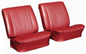 Chevelle Seat Upholstery, 1964 Reproduction Vinyl Buckets