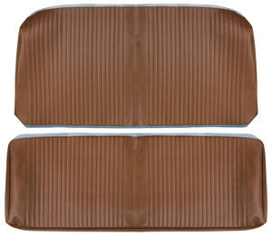 Chevelle Seat Upholstery, 1964 Reproduction Vinyl Rear Seat Coupe