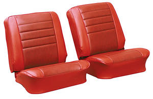 Chevelle Seat Upholstery, 1965 Reproduction Vinyl Buckets