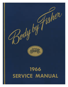1966 Bonneville Fisher Body Manuals