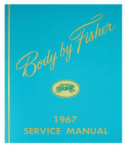 1967 Bonneville Fisher Body Manuals