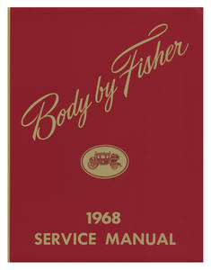 1968-1968 Grand Prix Fisher Body Manuals