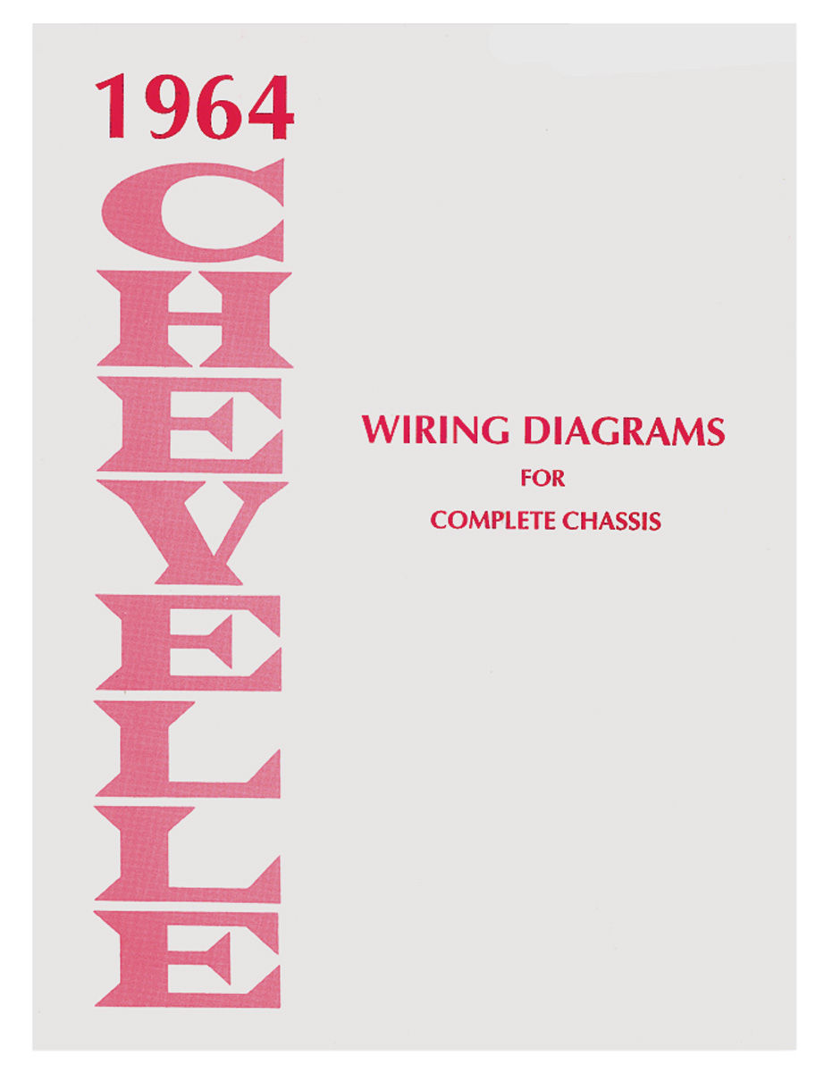 Chevelle Wiring Diagram Manuals Fits 1966 El Camino   Opgi Com