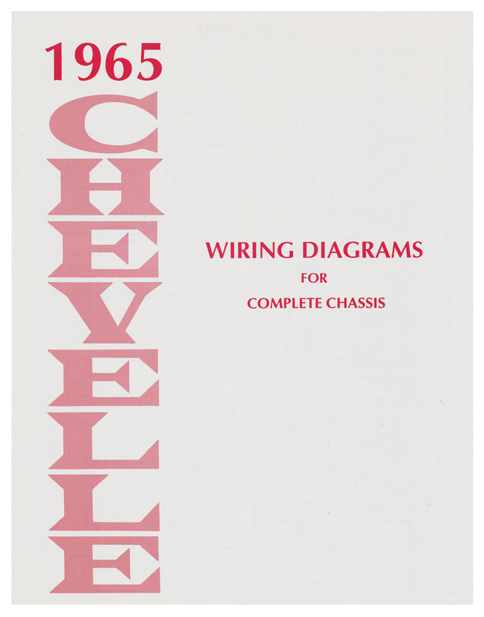 Chevelle Wiring Diagram Manuals   Opgi Com