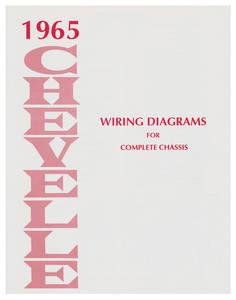 1965-1965 Chevelle Chevelle Wiring Diagram Manuals