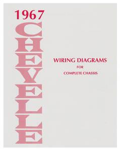 1967-1967 El Camino Chevelle Wiring Diagram Manuals