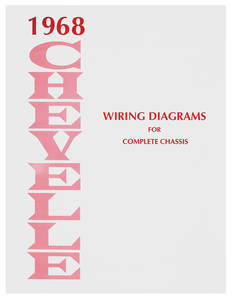 1968-1968 El Camino Chevelle Wiring Diagram Manuals