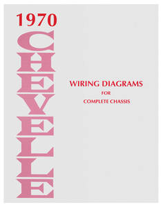 1970-1970 Chevelle Chevelle Wiring Diagram Manuals
