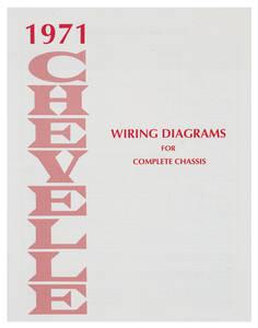 1971-1971 Chevelle Chevelle Wiring Diagram Manuals
