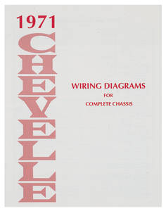 1971 Chevelle Wiring Diagram Manuals