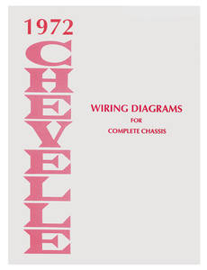 Chevelle Wiring Diagram Manuals