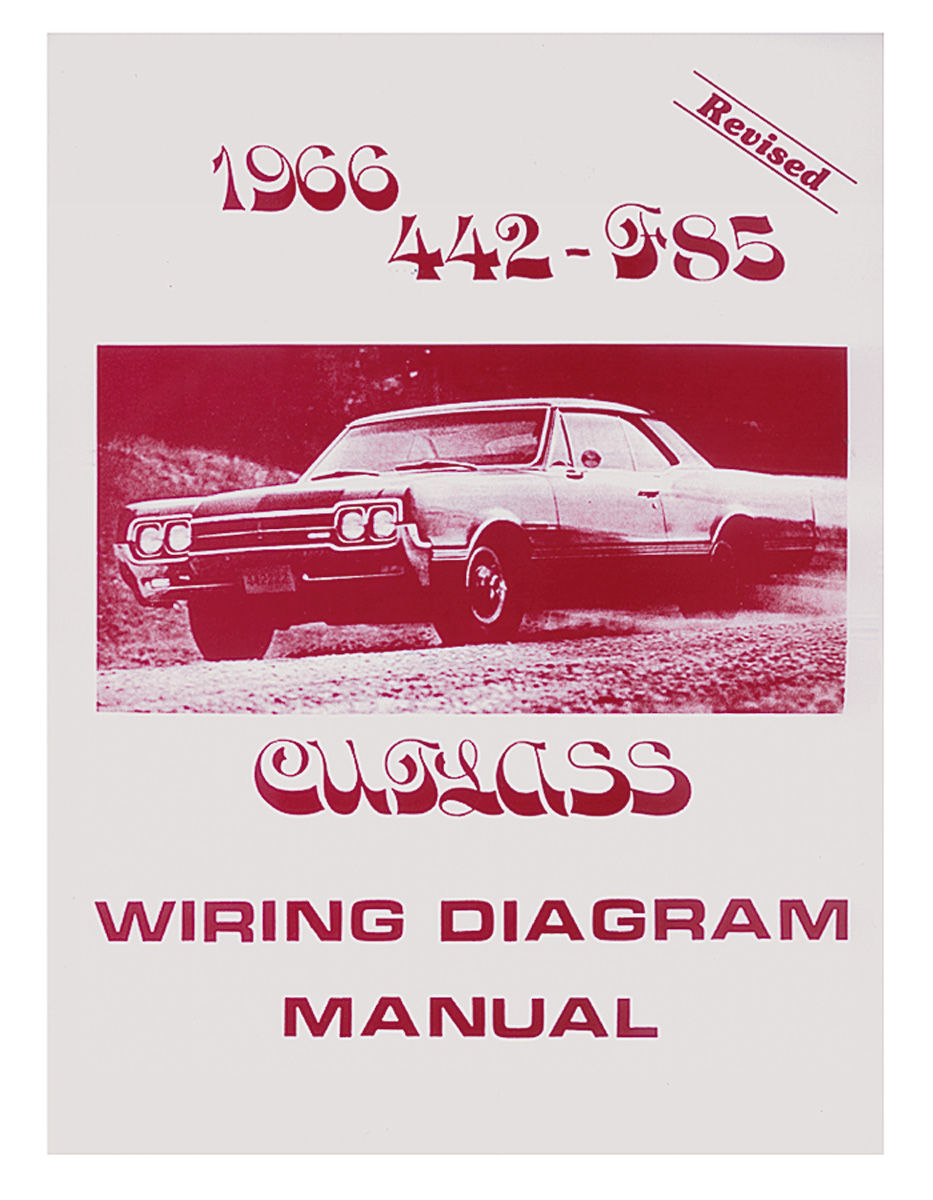 Wiring Diagram Manuals Fits 1967 Cutlass  442   Opgi Com