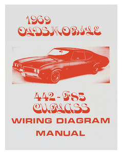 1969-1969 Cutlass Wiring Diagram Manuals
