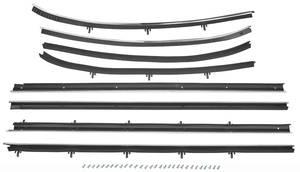 1968 Cutlass Window Felts, Reproduction Style Sedan 2-dr., by Repops