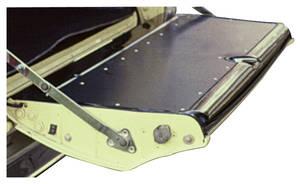 1966-1967 Cutlass Tailgate Felt, Outer (Cutlass Wagon & Vista Cruiser), by Repops