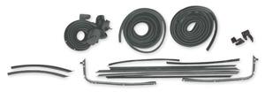 1970-72 Chevelle Stage I Coupe Weatherstrip Kit Original Style Felts