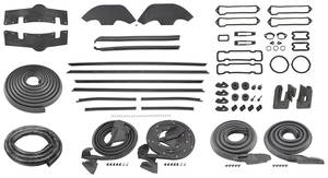 1970-1970 Monte Carlo Weatherstrip Kit (Stage II)