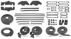 1971-1971 Monte Carlo Weatherstrip Kit (Stage II)