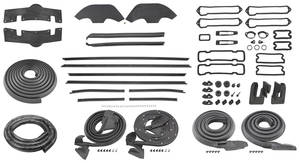 1971 Monte Carlo Weatherstrip Kit (Stage II)