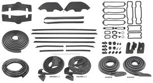 1972 Monte Carlo Weatherstrip Kit (Stage II)
