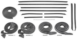 1970-72 Monte Carlo Weatherstrip Kit (Stage I)