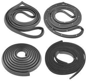 1969-72 Cutlass Weatherstrip Kit, Sedan (Stage I) (Does Not Include Window Felts)