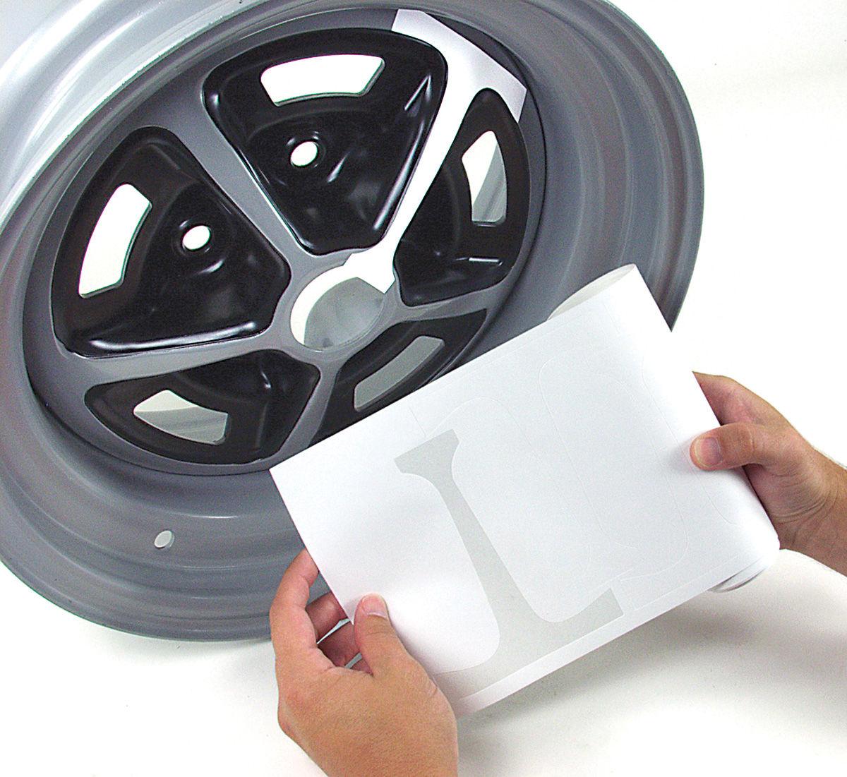Photo of Wheel Masking Kit SS - Corvair