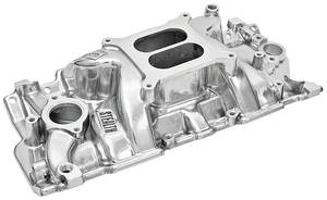 1978-88 El Camino Intake Manifolds, Speed Warrior, Weiand Polished