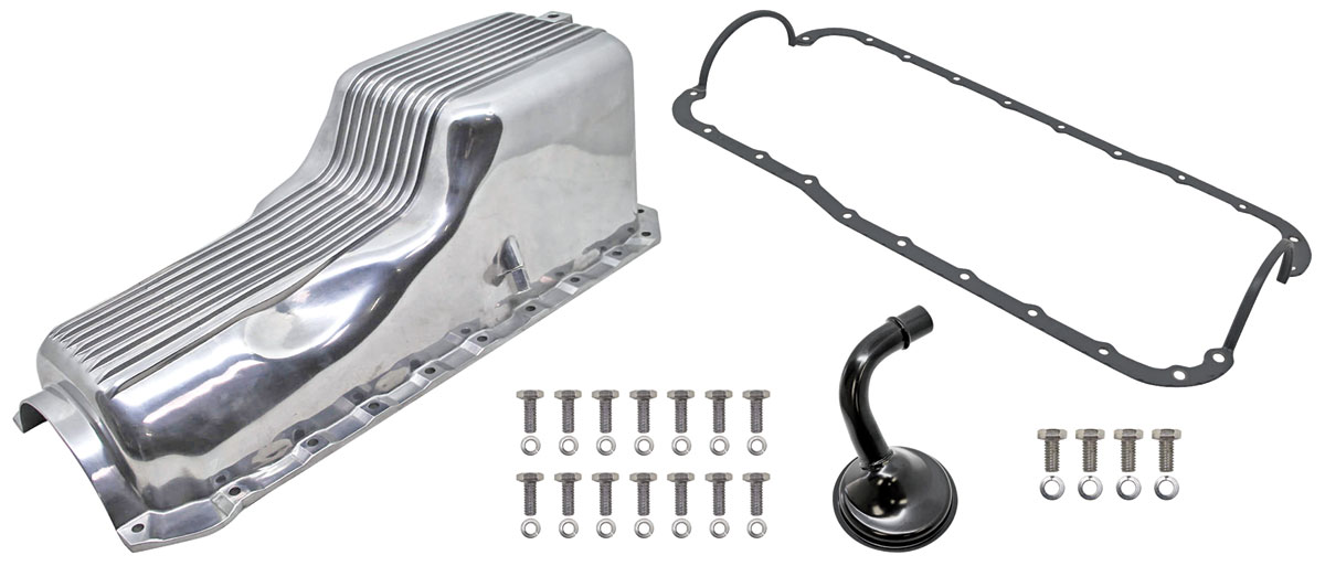Photo of Oil Pan Kits, Finned, Cast Aluminum Big Block