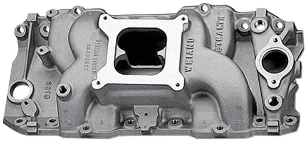 Photo of Stealth Intake Manifold, Weiand rectangle port heads