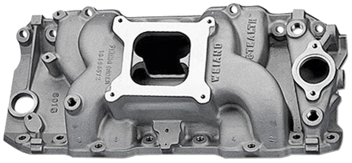 Photo of Stealth Intake Manifold, Weiand oval port heads