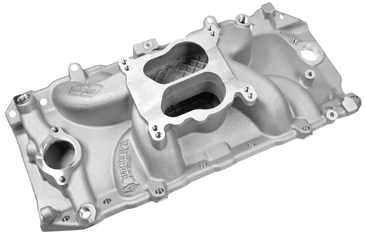 Photo of Intake Manifolds, Street Warrior, Weiand Big-Block oval port, natural