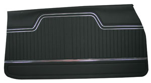 Chevelle Door Panels, 1970-72 Reproduction (4-dr.) 4-dr. Sedan & Wagon, Front, by PUI