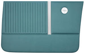 Chevelle Door Panels, 1964 Reproduction 4-dr. Sedan & Wagon, Front