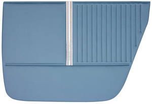 Chevelle Door Panels, 1964 Reproduction 4-dr. Sedan & Wagon, Rear