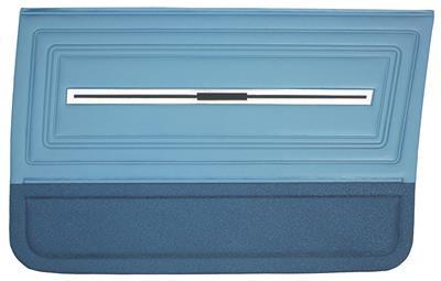 Chevelle Door Panels, 1966 Reproduction (2-Door) 4-dr. Sedan & Wagon, Front
