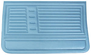 Chevelle Door Panels, 1967 Reproduction (4-dr.) 4-dr. Sedan & Wagon, Front, by PUI