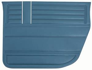 Chevelle Door Panels, 1968 Reproduction (2-dr.) 4-dr. Sedan, Rear