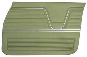 Chevelle Door Panels, 1969 Reproduction (2-dr.) 4-dr. Sedan & Wagon, Front